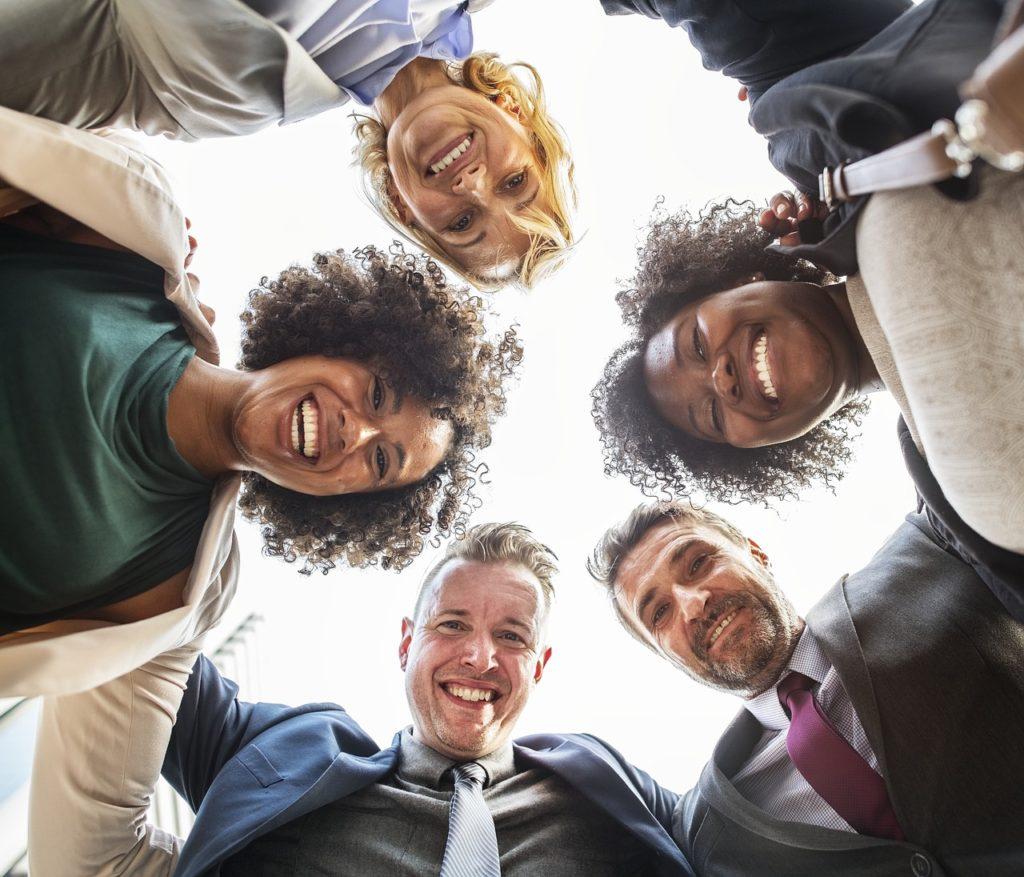 workplace team members