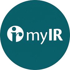 myIR logo
